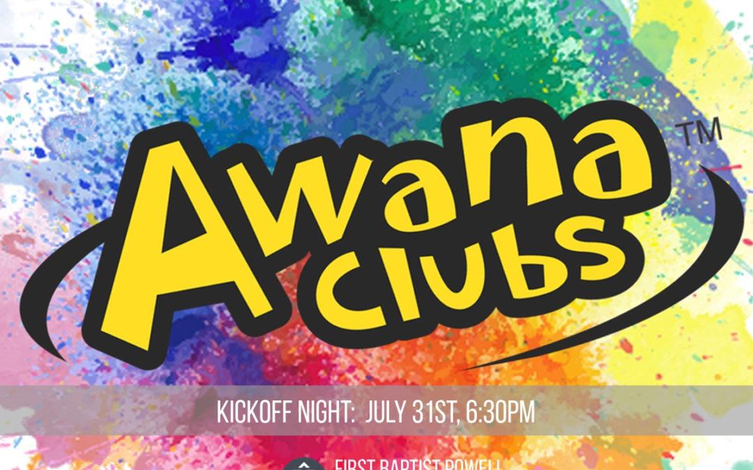 AWANA Kick-Off Party