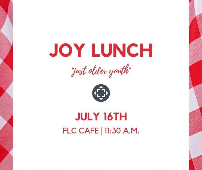 JOY Lunch