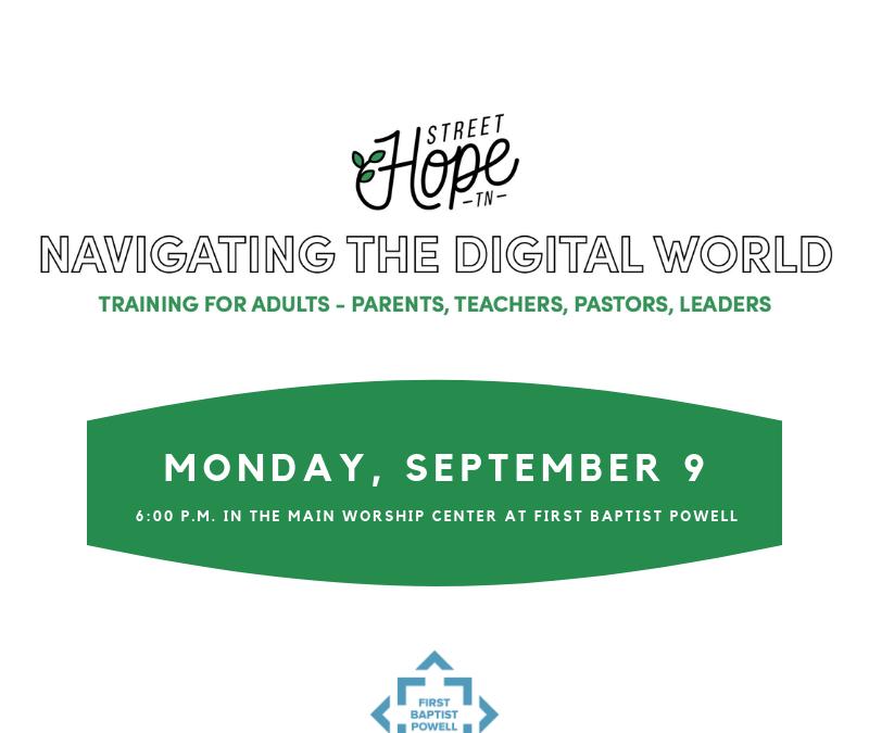Navigating the Digital World Training