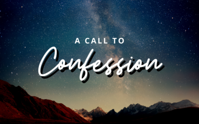 A Call to Confession