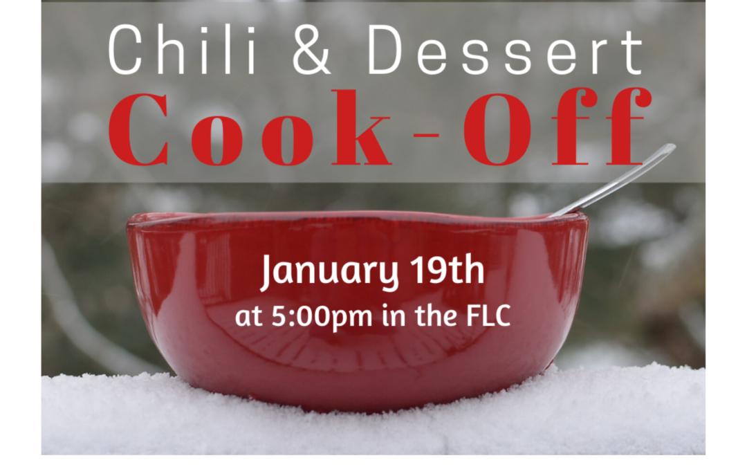 Chili & Dessert Cook-Off
