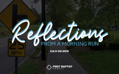 Reflections from a Morning Run