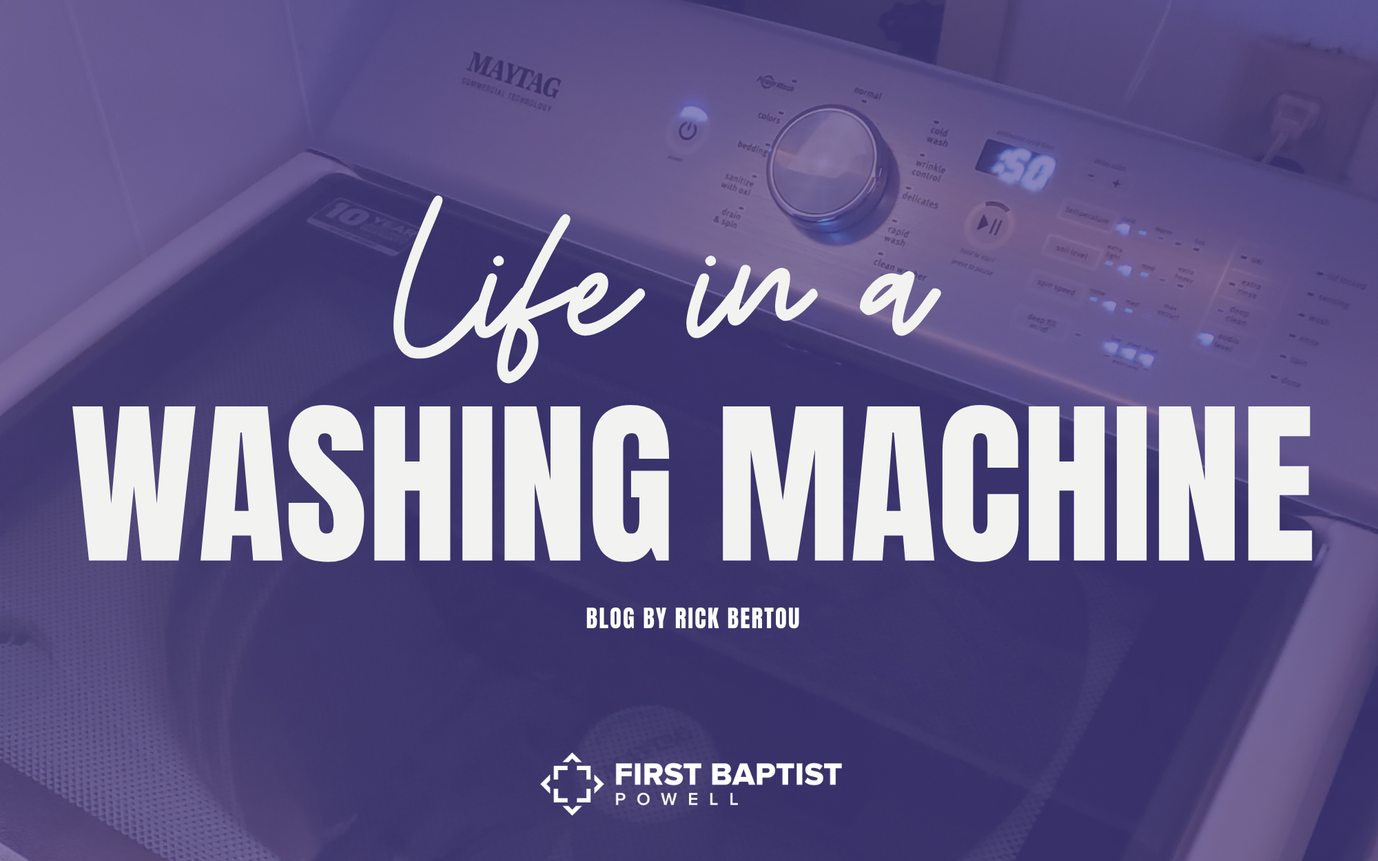 Life in a Washing Machine