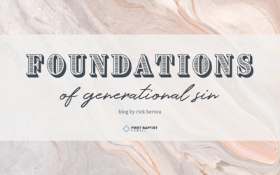 Foundations of Generational Sin