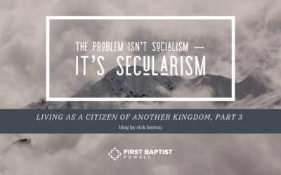The Problem Isn't Socialism — It's Secularism