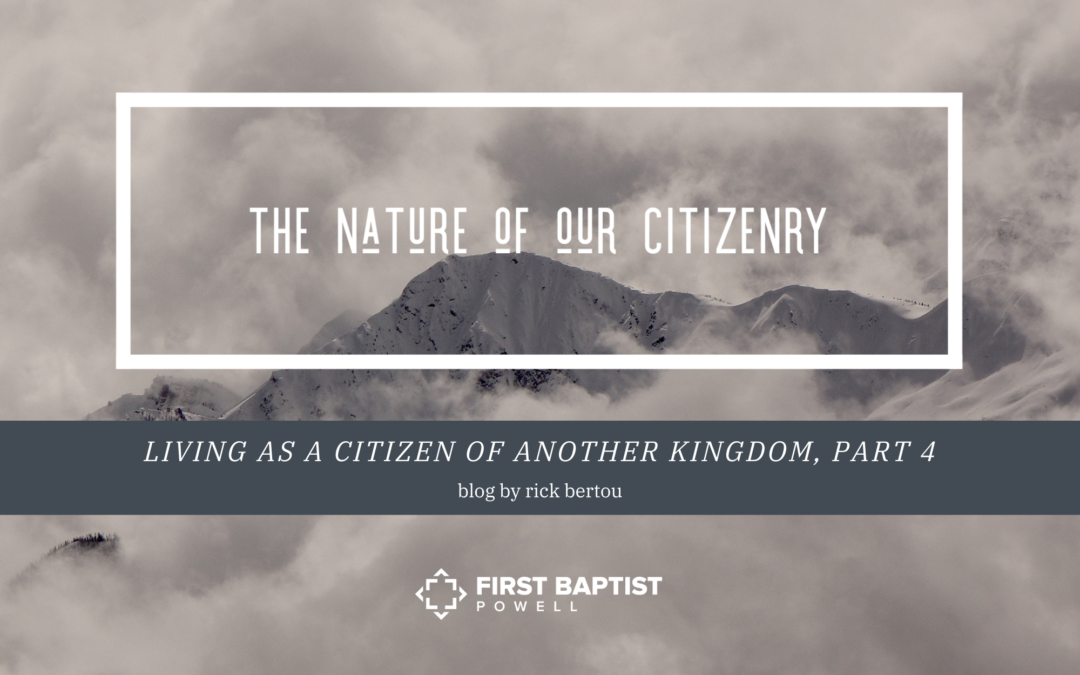 The Nature of Our Citizenry